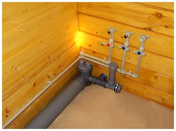 Как делать канализацию в частном доме из колец