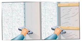 как установить пластмассовые панели на гипсокартон