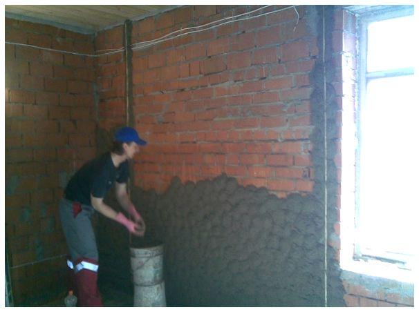 Как оштукатурить стену из шлакоблоков своими руками