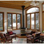 Деревянные окна из лиственницы – наилучший выбор