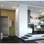Дизайн маленькой однокомнатной квартиры — фото