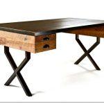 Добротный стол в стиле лофт от richard velloso