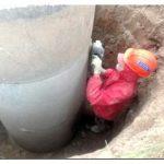 Гидроизоляция колодца из бетонных колец жидким стеклом – все нюансы процесса