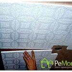 Инструкция по поклейки потолочной плитки
