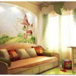 Интерьер детской комнаты. дизайна интерьера в детской