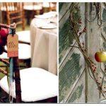 Интерьер и сервировка стола: декор из яблок