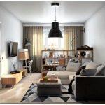 Интерьер однокомнатной квартиры студии с фото готовых вариантов. особенности и дизайн