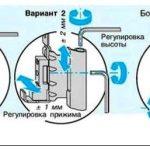 Как отрегулировать балконные пластиковые двери