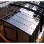Как сделать крышу из поликарбоната для террасы на конкретном примере