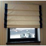 Как снять рулонные шторы для стирки и постирать их?