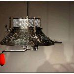 Кружевное освещение: светильники из хлама