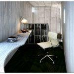 Подвесной дом писателей от blank studio