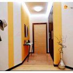 Правильно организованный дизайн узкого длинного коридора увеличит пространство