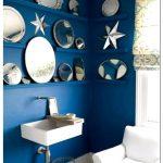 Ванна в синем цвете: спокойствие и релакс