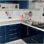 3 Правила оформления кухни в синих тонах