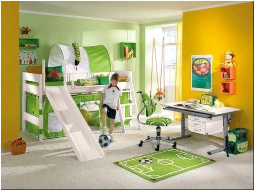 Как оборудовать комнату футболиста
