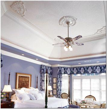 Фото 3 - Отделка потолка пенопластовой лепниной