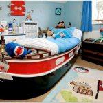 Кровать для мальчика: делаем детскую интересной