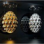 Оригинальные формы потолочных светильников