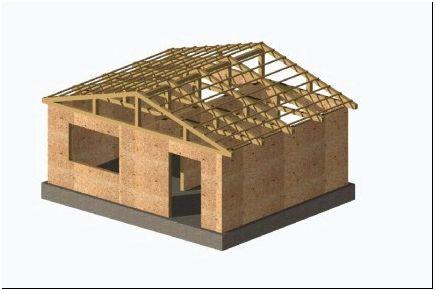 Щитовое сборное строение