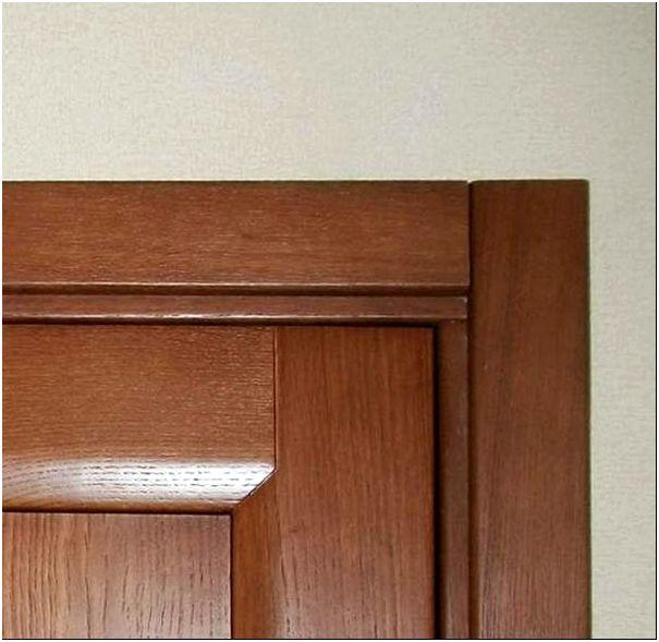 Крепление наличников на дверную коробку