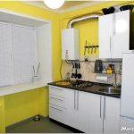 Дизайн кухни с газовой колонкой: особенности размещения и оформления