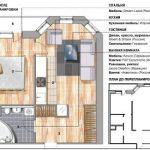Летний интерьер малогабаритной квартиры