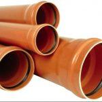 Диаметр и размеры труб пвх для канализации