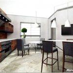 Играем с воображением и создаем невообразимый дизайн кухни в 30 кв. метров