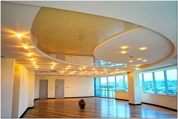 Фото 4 - Комбинированный подвесной потолок