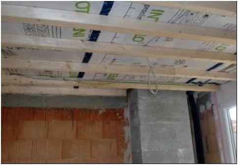 Фото 3 — Монтаж гипсокартона на деревянные рейки