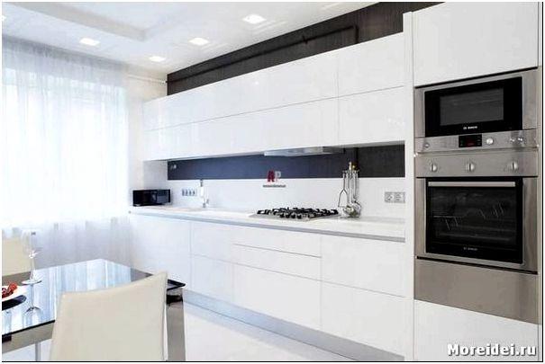 белые кухни дизайн