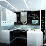 Дизайн кухни с эркером – достоинства многоугольной кухни серии п44