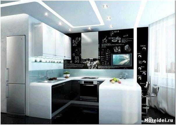 дизайн кухни п44