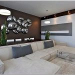 Дизайн гостиной в стиле хай-тек: ультрасовременный интерьер