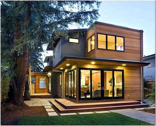Фото 7 - Дом интересного дизайна с плоской крышей