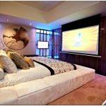 Современный дизайн гостиной с подвижным потолком(видео)