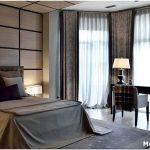 Спальня с эркером: утончённый и воздушный интерьер
