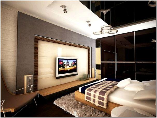 Фото 6 - Современный стиль интерьера спальной комнаты