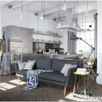 Уютный и практичный дизайн интерьера в скандинавском стиле