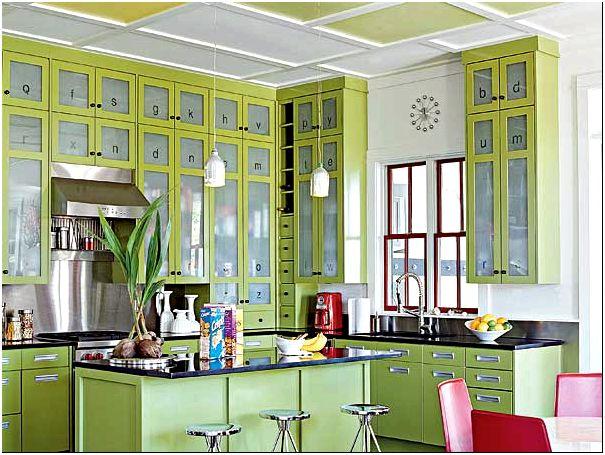 Фото 1 - Идея как оформить кухню в частном доме