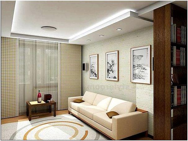 Фото 9 - Дизайн гостиной в хрущевке