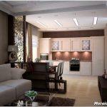 10 Способов разделения пространства кухни-гостиной
