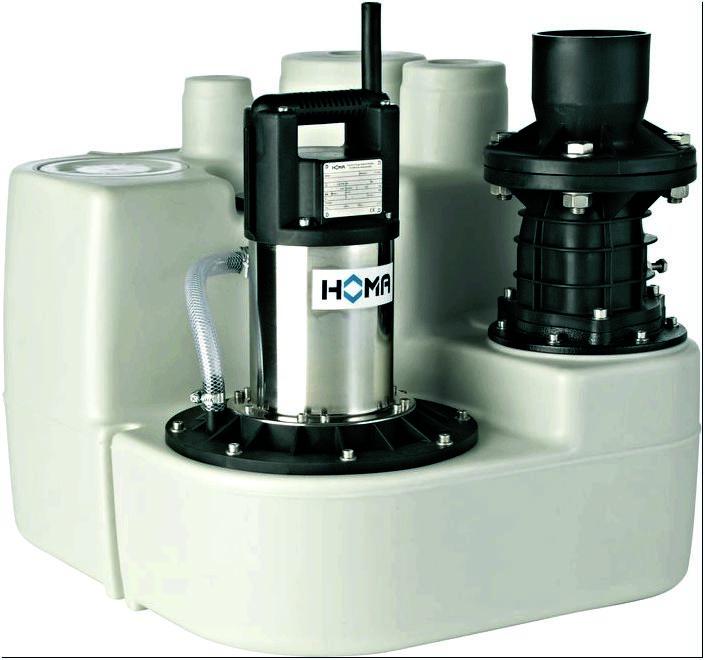 Насосные технологии - Канализационные насосные станции HOMA
