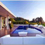 Дизайн реконструированного дома в беверли — хиллз