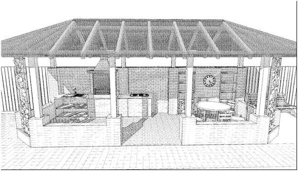 Рисунок 2 – Проект печного комплекса