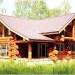 Срубы домов из бревна. виды обработки бревен