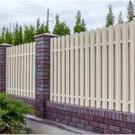 Забор из штакетника на загородном участке: фото и видео