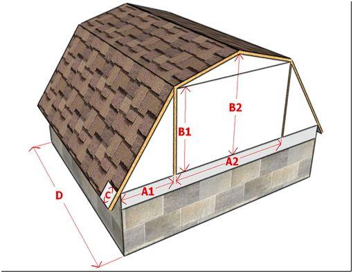 Фото 8 – Расчет мансардной крыши