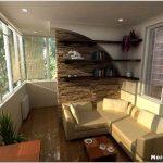 Основные и самые увлекательные способы дизайна утепленных балконов